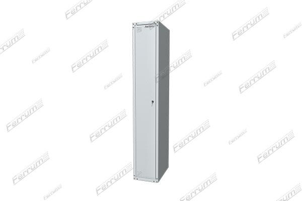 """Шкаф металлический односекционный для одежды """"Classic"""" - 1 дверь, глухие стенки"""